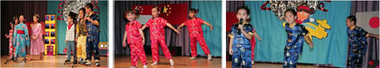 English and Chinese Performances put up by our K1!