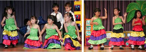 The Marias and Paquitos of Nursery 2 moved and grooved to the Spanish beat!