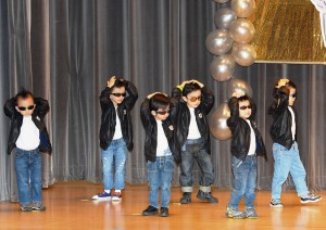 Wearing their cool attire, the N2 boys from BDC mesmerize the crowd with their groovy moves.