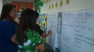 Identifying the qualities of good and bad rubrics