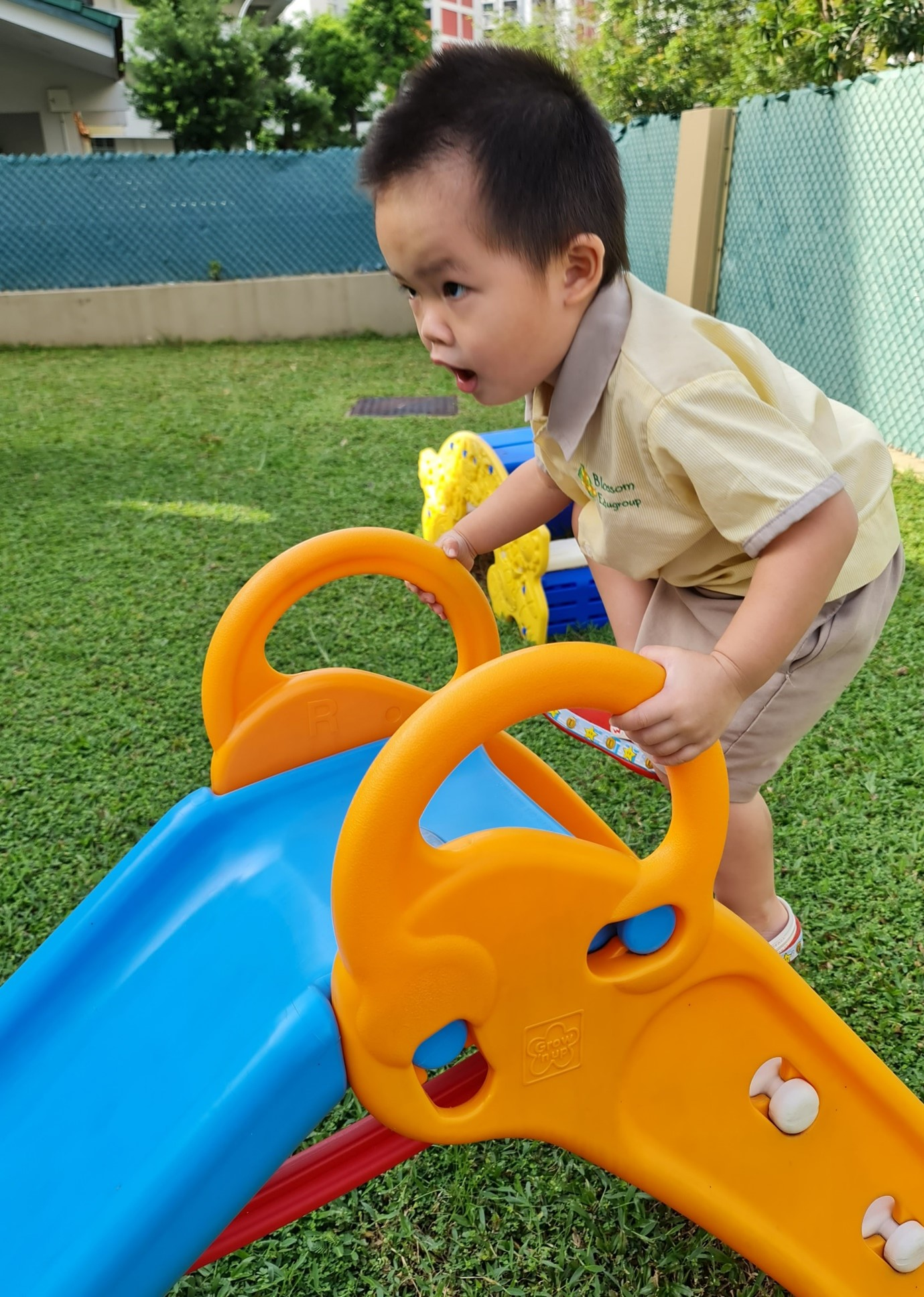 Playgroup physical play